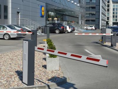 System parkingowy Lidl Wołoska Warszawa